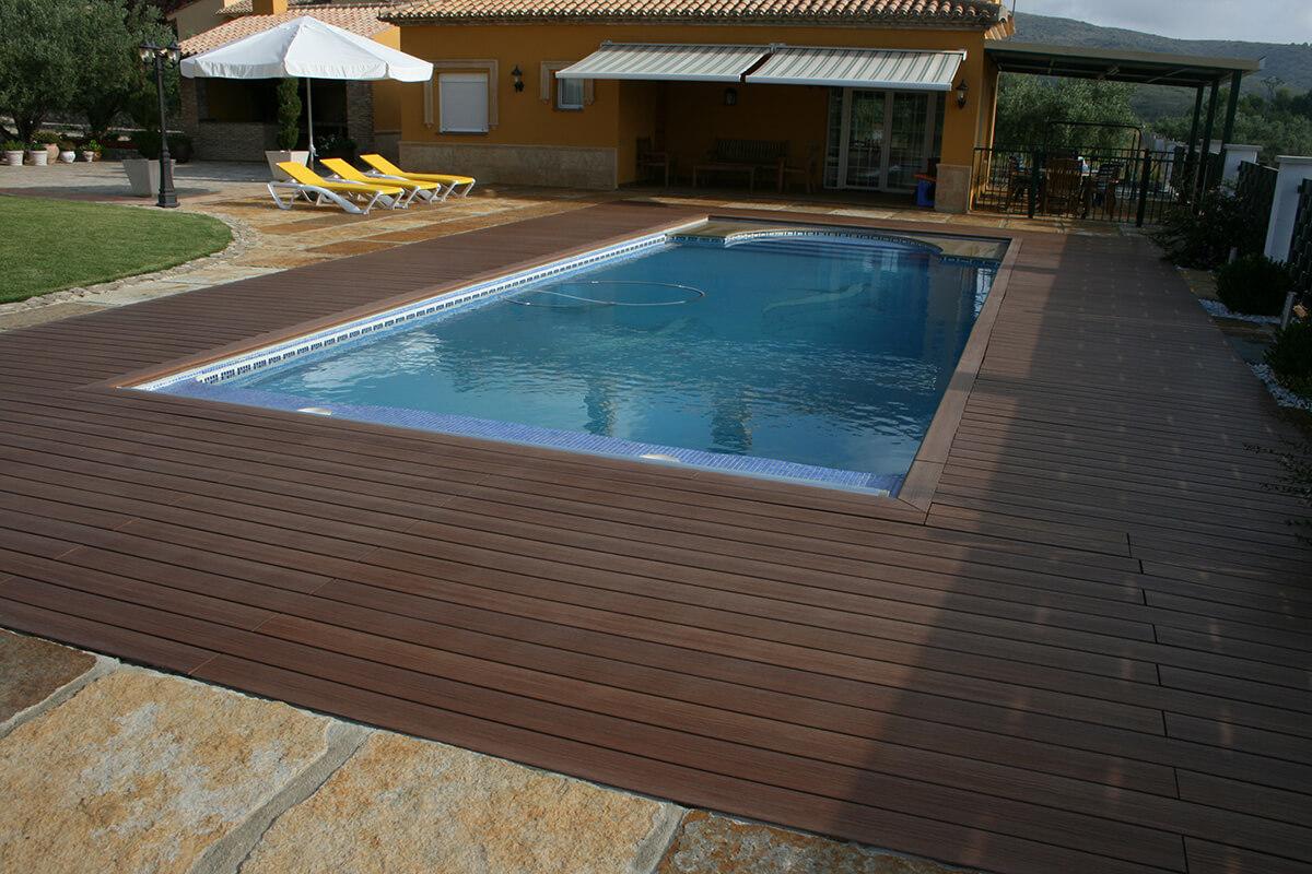 Acabados tarima madera top piscines - Tarima para piscinas ...