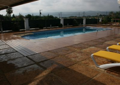Terrazas con acabados de resina