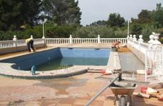 Reformas en piscinas