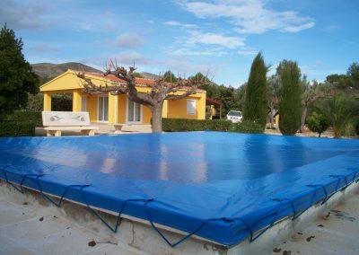 Cubiertas manual para piscinas